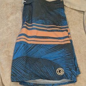 Mr. Surf's Surf Shop Swimming trunks size 36